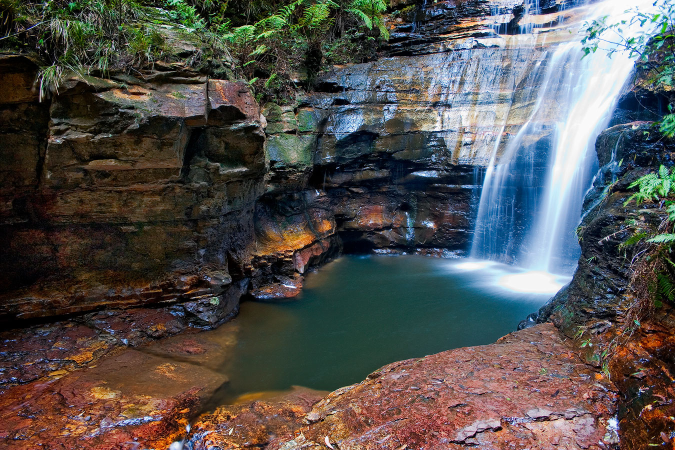 Waterfalls Photography Gallery Andrew Barnes Photography