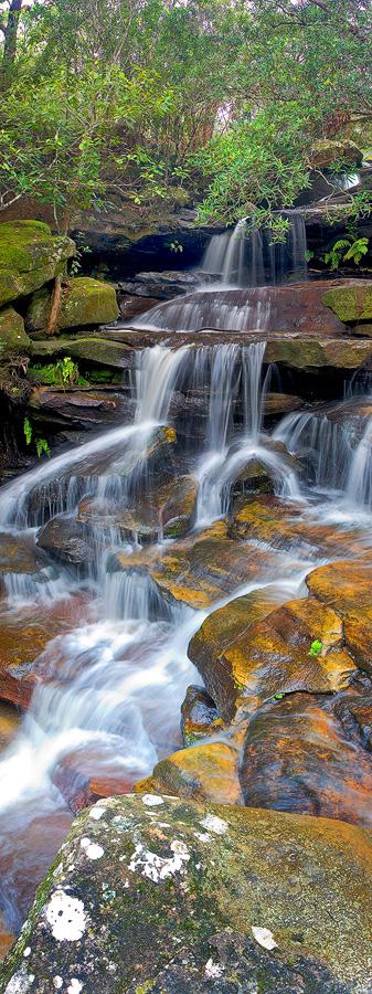 Andrew Barnes Landscape Photography - Peaceful Cascades