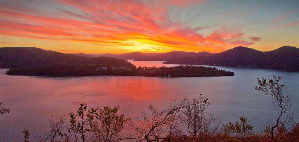 Andrew Barnes Landscape Photography - Milson Sunset