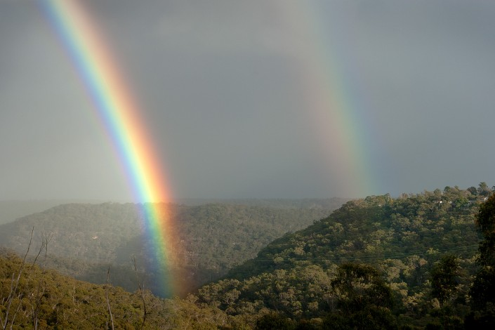 Andrew Barnes Landscape Photography - Berowra Valley Rainbow