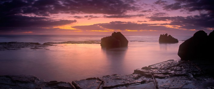Andrew Barnes Landscape Photography - Into the Light Forresters Beach