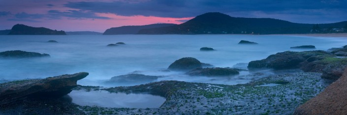 Andrew Barnes Landscape Photography, Last Light Pearl Beach