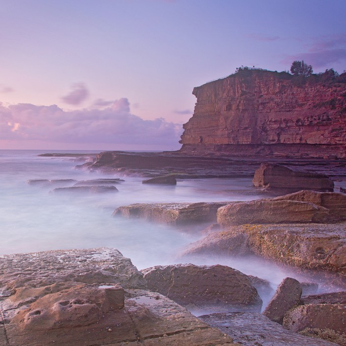 Andrew Barnes Landscape Photography - Skillion Early Purple
