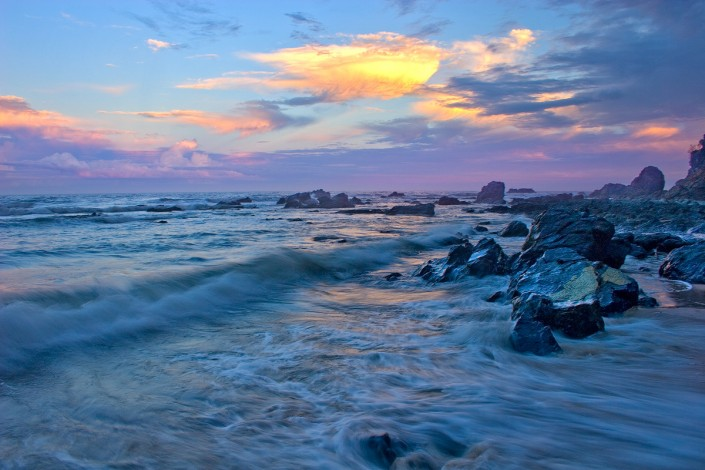 Andrew Barnes Landscape Photography, Flynns Beach, Sunset, Port Macquarie