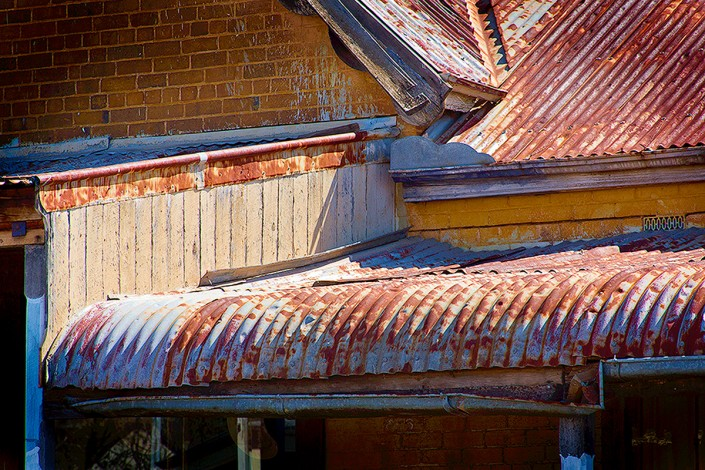 Andrew Barnes Landscape Photography - Gulgong Roof - Outback Photography