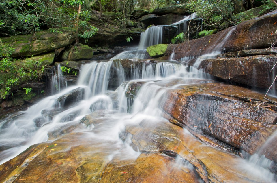 Andrew Barnes Landscape Photography - Somersby Top Falls