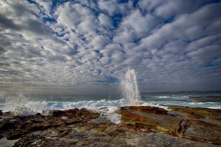 Spoon Bay, Terrigal, Central Coast, Blow Hole