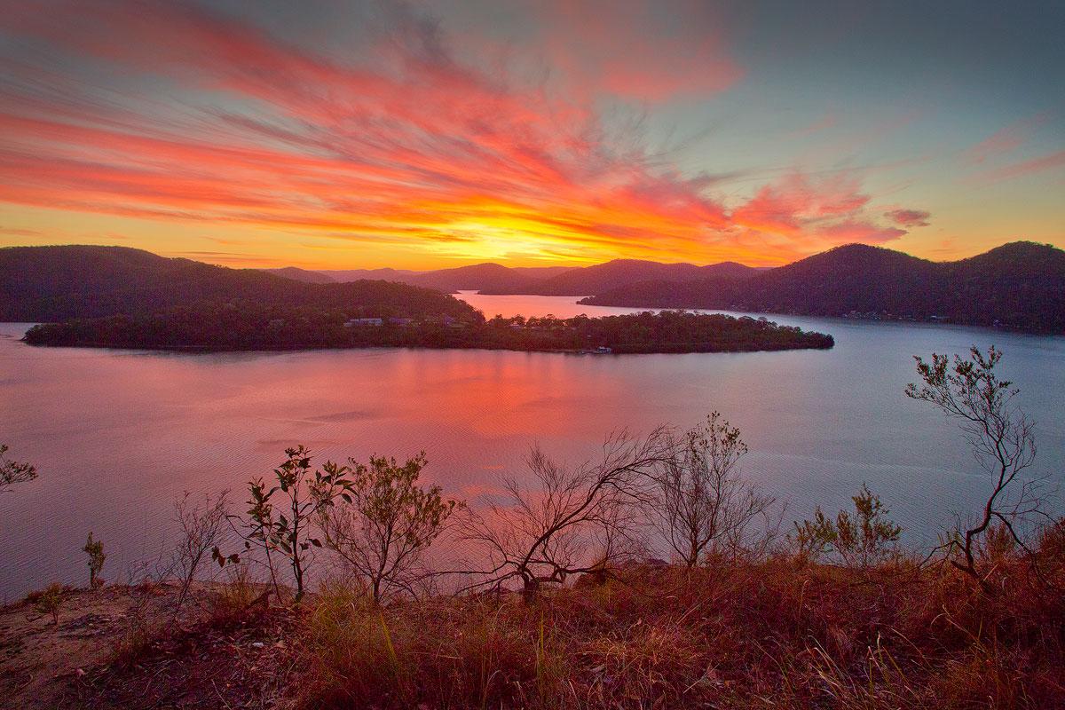 Milson Island Sunset Ii