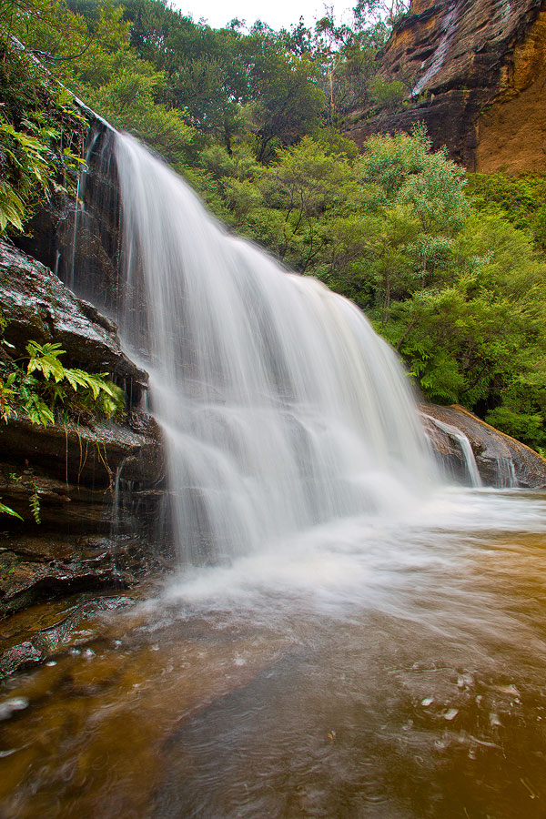 Lower Wentworth Falls, Blue Mountains
