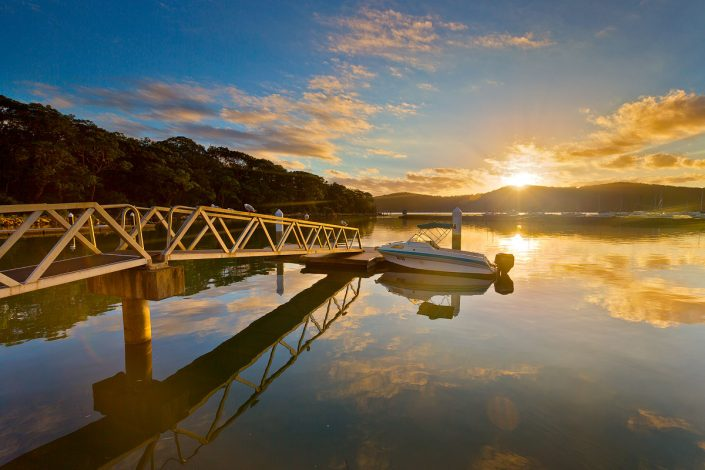 Brooklyn Marina, Brooklyn, Hawkesbury, Hornsby Shire, Sunrise, Landscape Photography Sydney