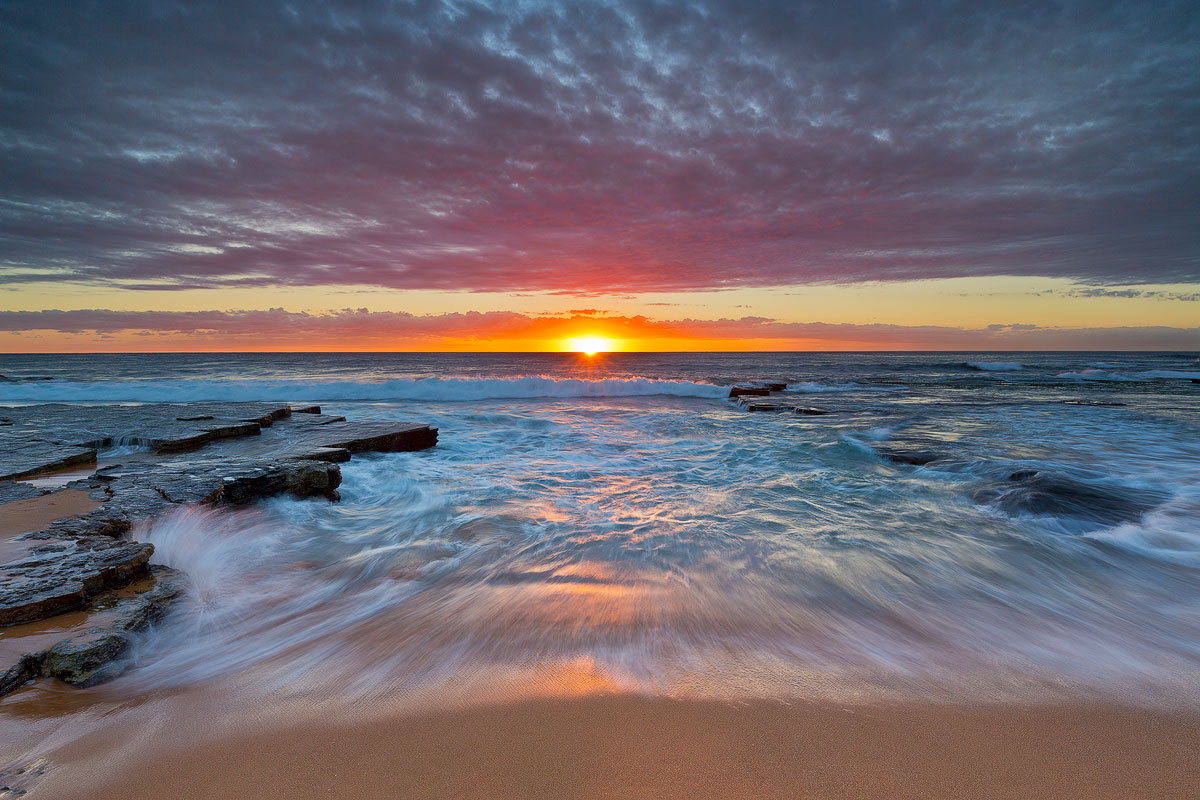 Turimetta Beach Sunrise Sydney Northern Beaches Landscape Photography