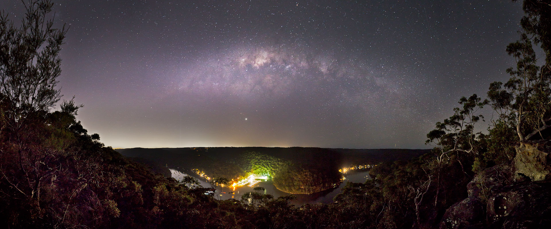 Milky Way, Berowra, Berowra Valley National Park, Berowra Waters, Sunset, Landscape Photography, Landscape Photography Sydney