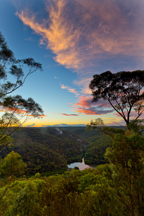 Berowra, Berowra Valley National Park, Berowra Waters, Sunset, Landscape Photography, Landscape Photography Sydney, Barnetts Lookout