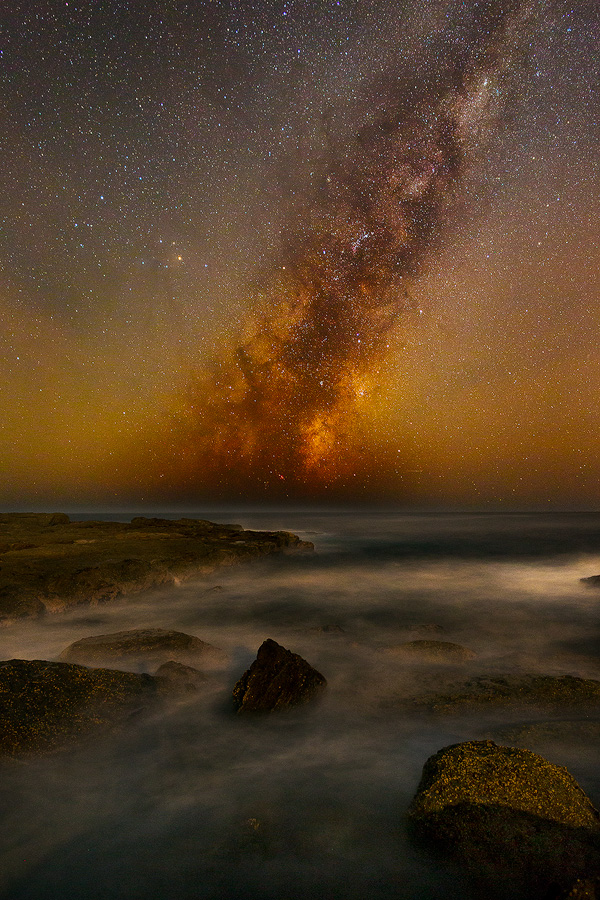 Astrophotography, Milky Way, Galactic Core, Central Coast